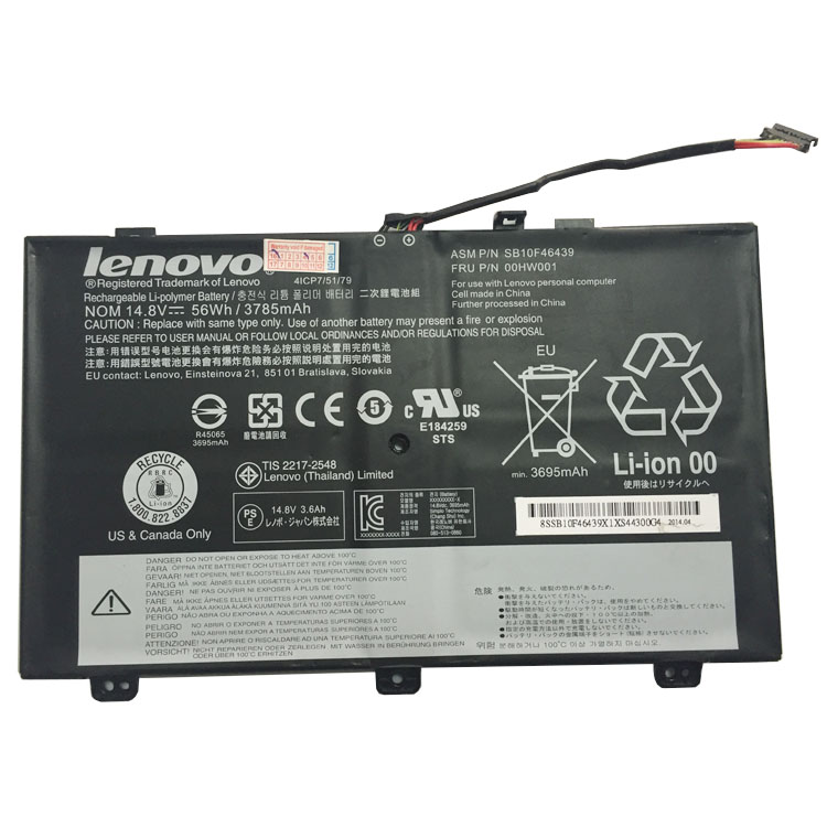 Cheap Lenovo ThinkPad S3 Yoga 14 4IC... battery