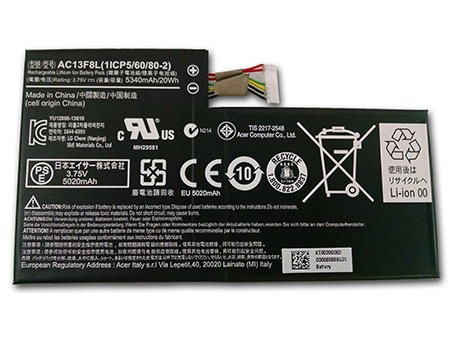 Acer Iconia Tab A1-A810 Tablet... battery
