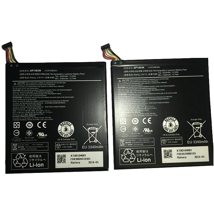 Acer/Iconia One7 B1-750... battery