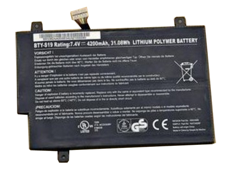 Cheap MSI BTY-S19 925TA026F 40033906... battery