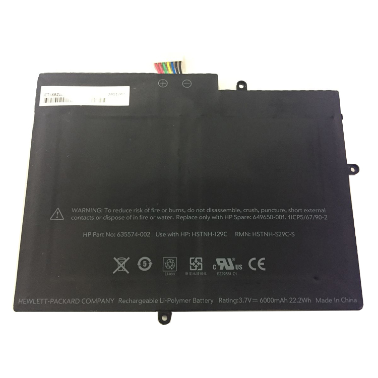 "HP Touchpad 10""... battery"