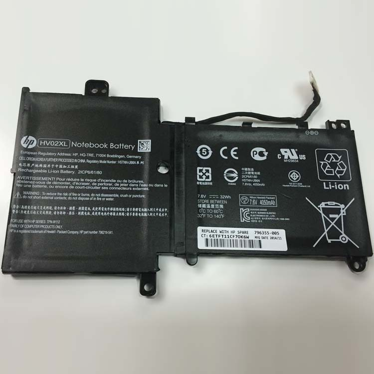 "HP Pavilion x360 11""K-Series... battery"