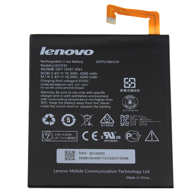 Cheap Lenovo Ideapad A8-50 A5500... battery