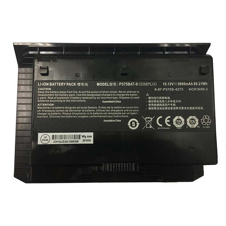 Clevo Sager X911 P375SM p375SM... battery